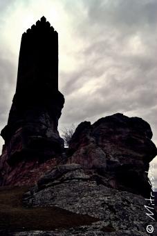 Black Tower - Castillo de Zafra (Campillo de Dueñas, Guadalajara, España)