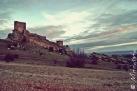 Vista del castillo de Zafra (Campillo de Dueñas, Guadalajara, España)