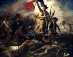 """""""La Libertad guiando al Pueblo"""" de Eugène Delacroix."""